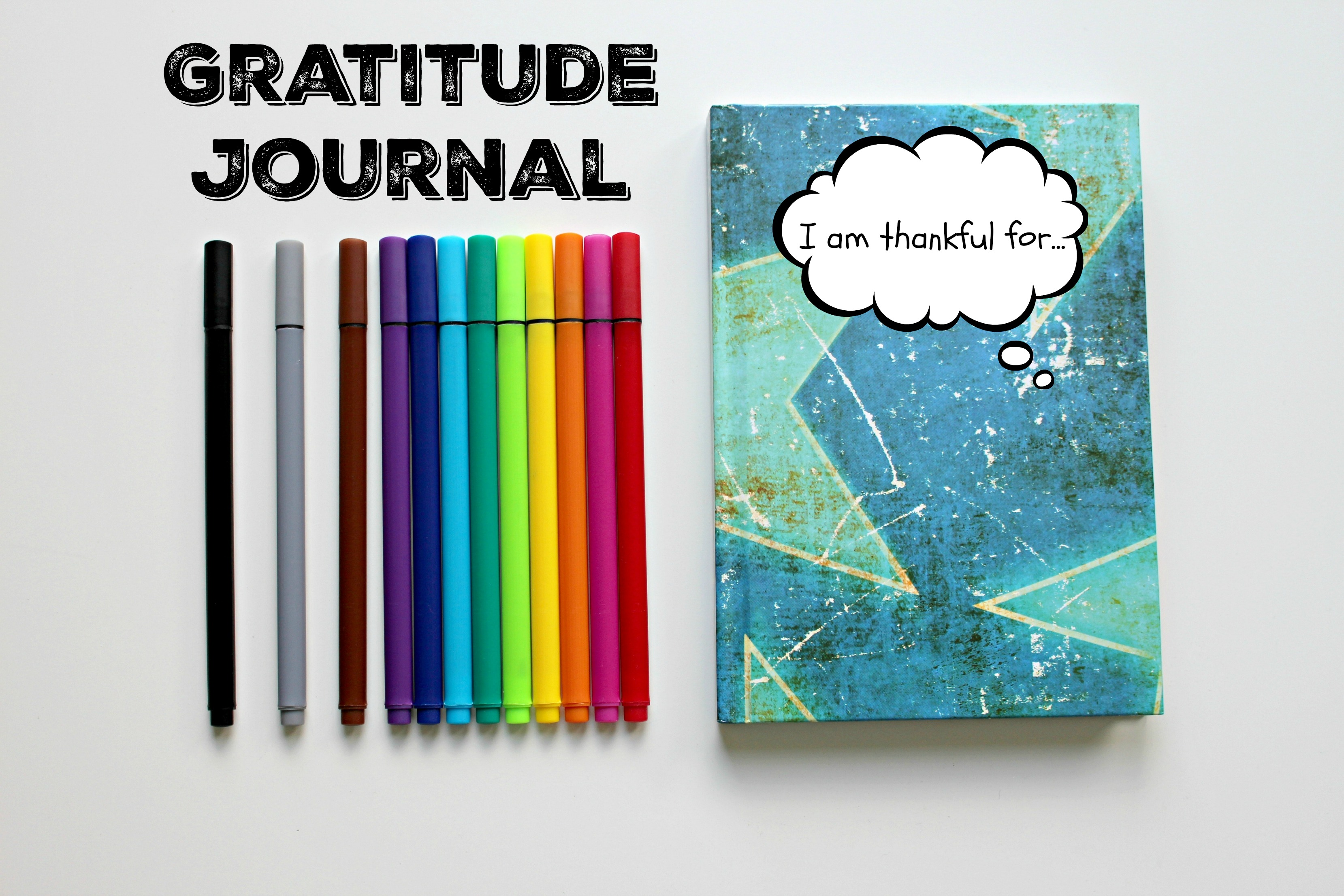 Pins & Notebook - 5 Ways to Keep Your Family Focused on Gratitude this Holiday