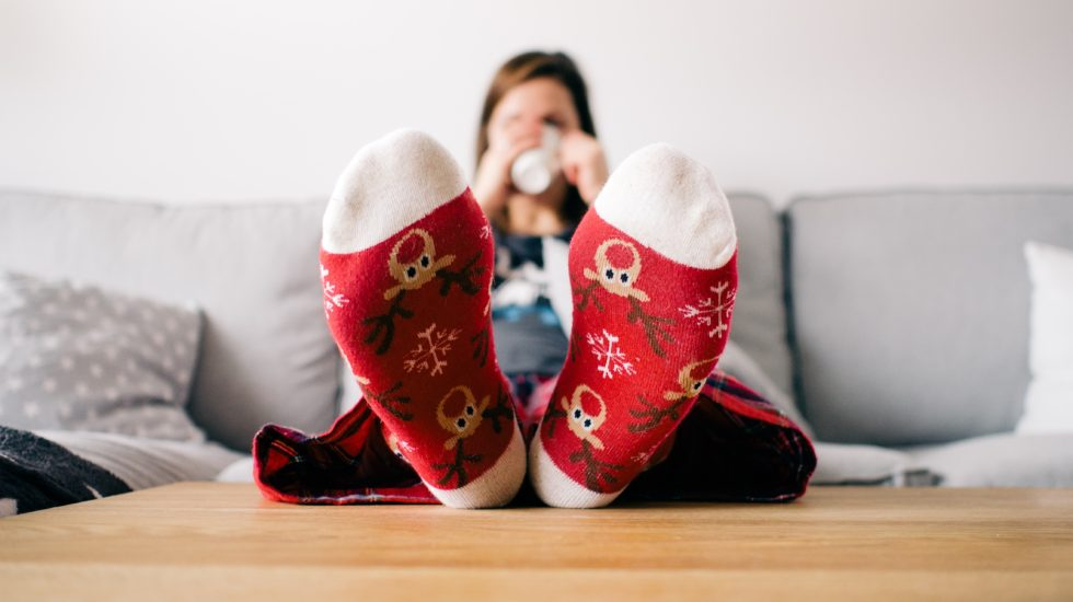 Christmas socks - 5 Ways to Keep Your Family Focused on Gratitude this Holiday