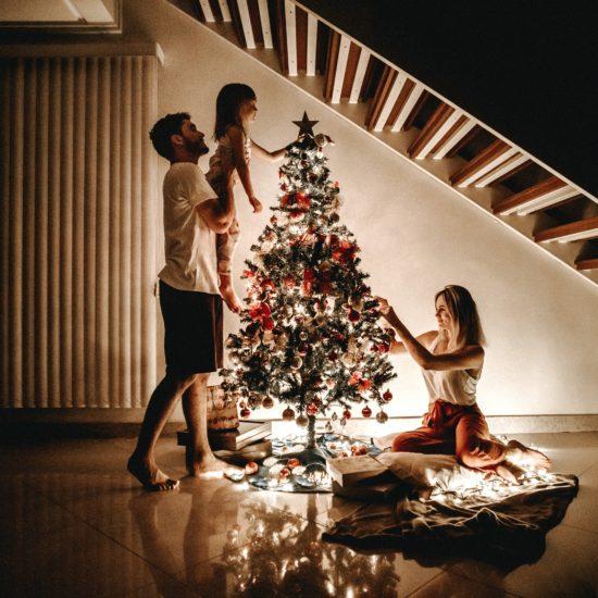 Christmas Tree Family - Keep focused on gratitude this holiday season