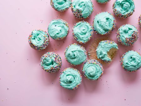 Cupcakes - 2 Ingredient Allergy Free Birthday Cake