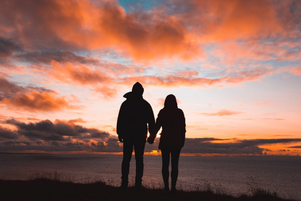 Couple Sunset - Can your marriage survive cancer?