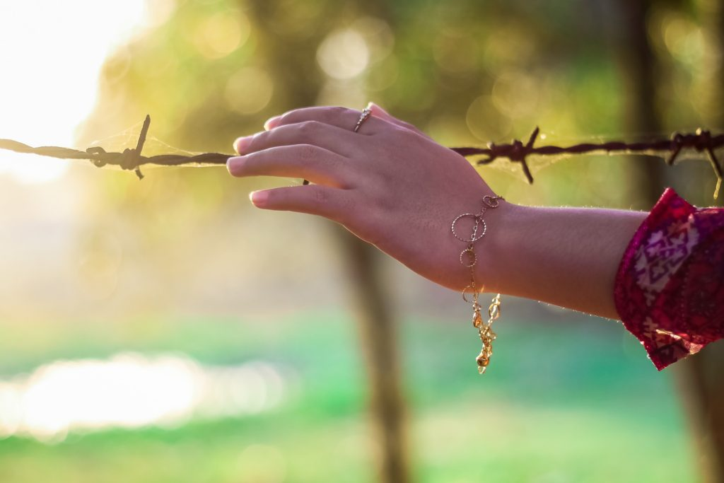 Barbed wire - PTSD can happen after cancer