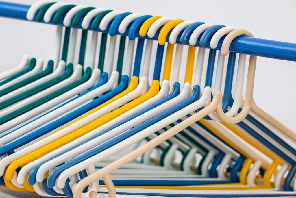 Hangers - Moms Spark Joy & Declutter with Nextflix's Tidying Up