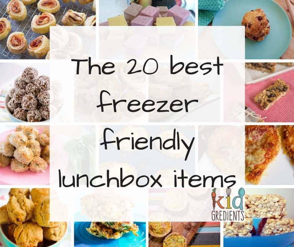 Freezer Friendly Lunch Ideas for Kids