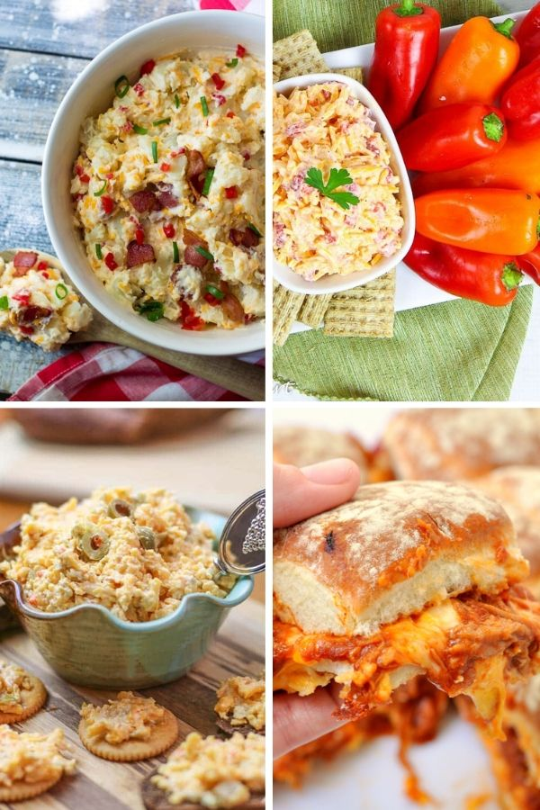 Appetizers - 15 Pimento Cheese Ideas for the Game Day Win
