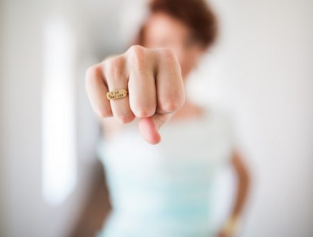 Woman with ring - The Real Source of Working Mom Guilt