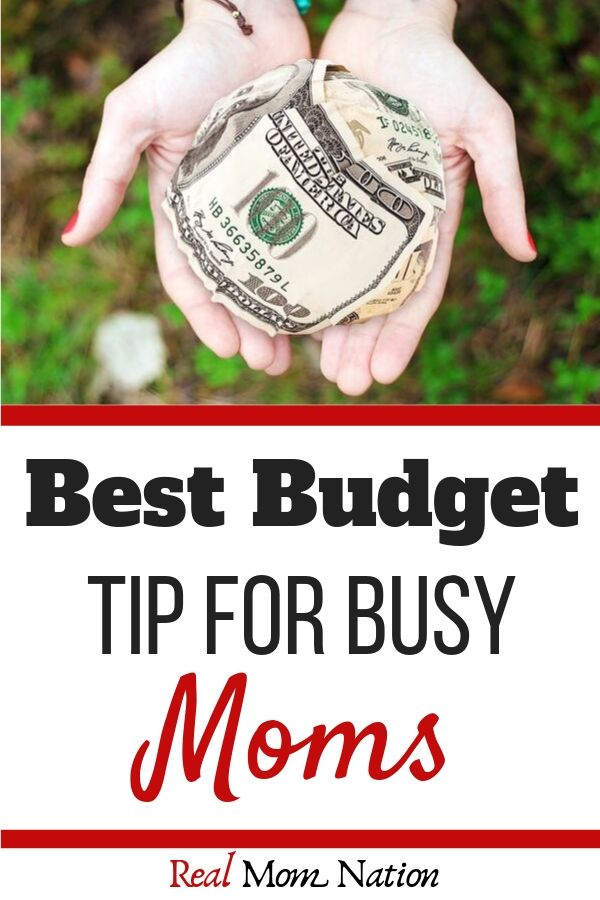 Cash Hand - Best Budget Tip for Busy Moms
