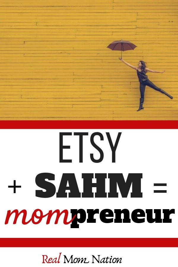 Woman Umbrella - Etsy + SAHM = Mompreneur