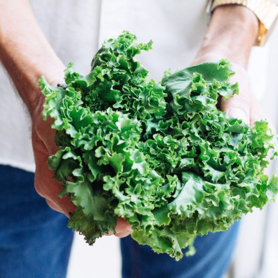 Person holding Greens - 5 TIPS You Need When Cooking Vegetarian for a Family