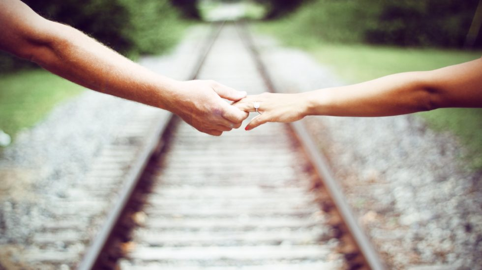 Railroad Tracks & Hands - Cancer and spouses