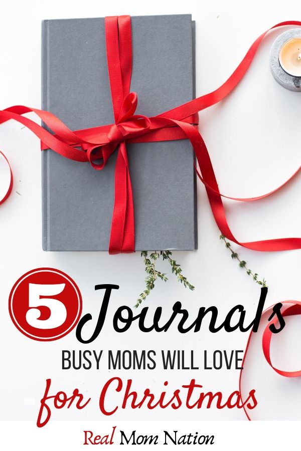 Gift Wrapped Journals - Great Christmas gift for busy mom