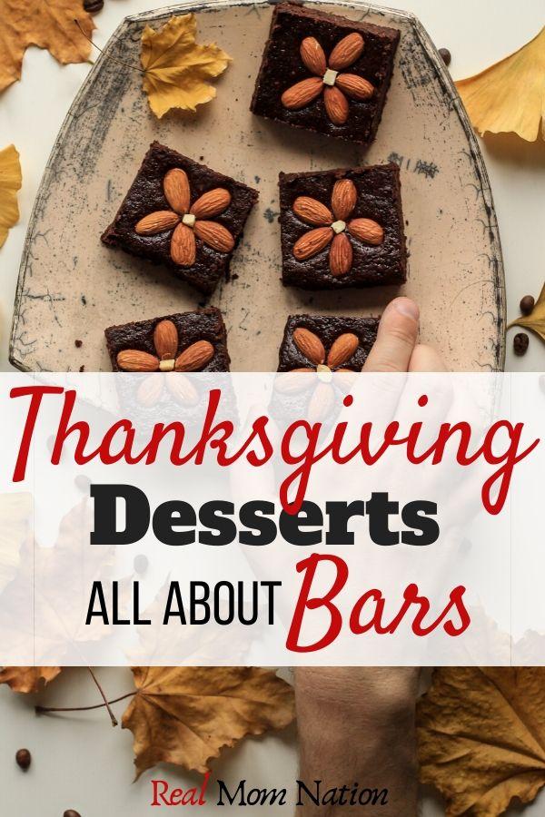 Thanksgiving Dessert Bars