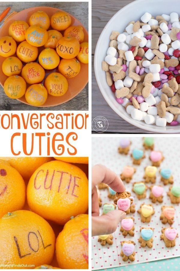 Valentine's Day Treats - No Bake Valentine's Treats for Preschool