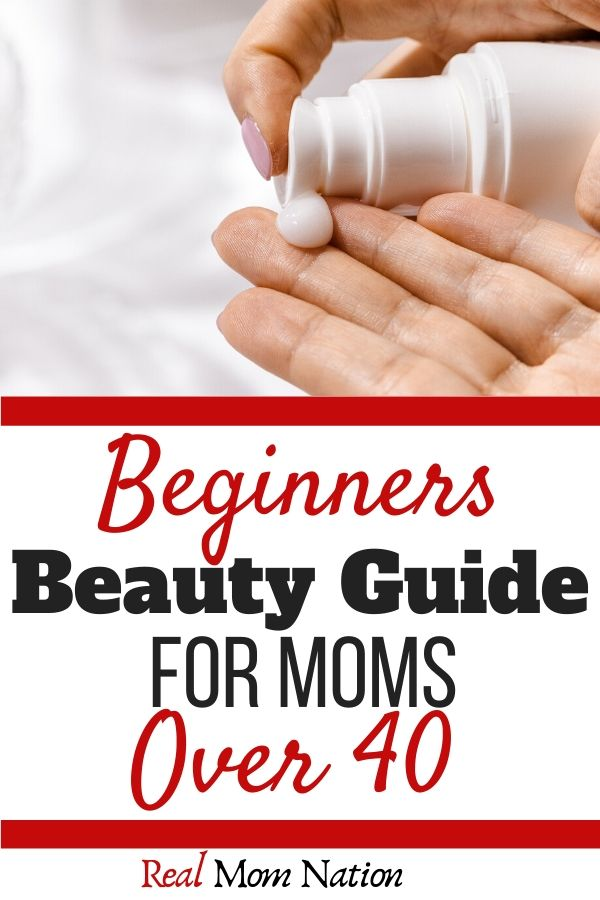 Pin - Lotion - Beginners Beauty Guide for Moms Over 40