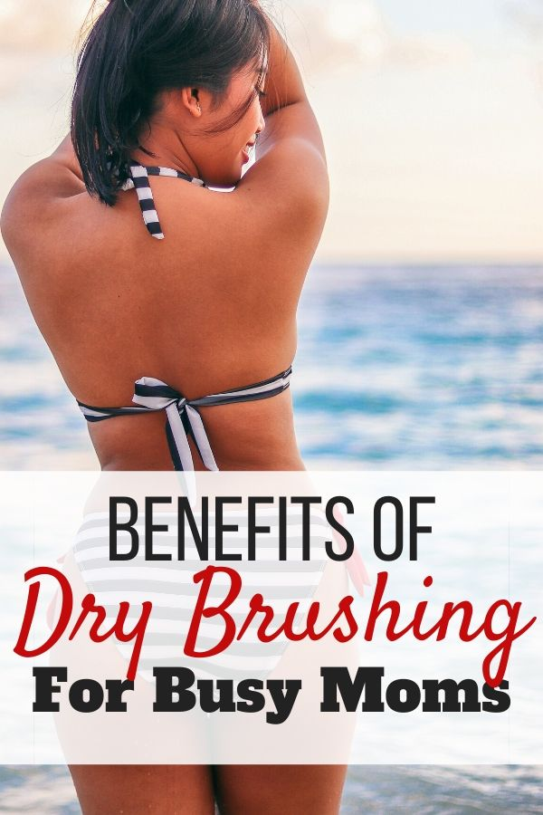 Woman Beach - Benefits of Dry Brushing for Busy Moms