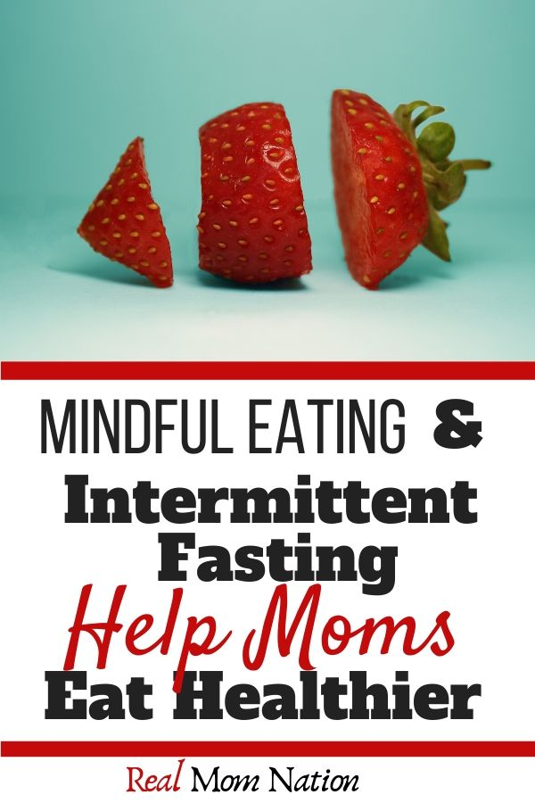Strawberry - Mindful Eating AND Intermittent Fasting for Moms