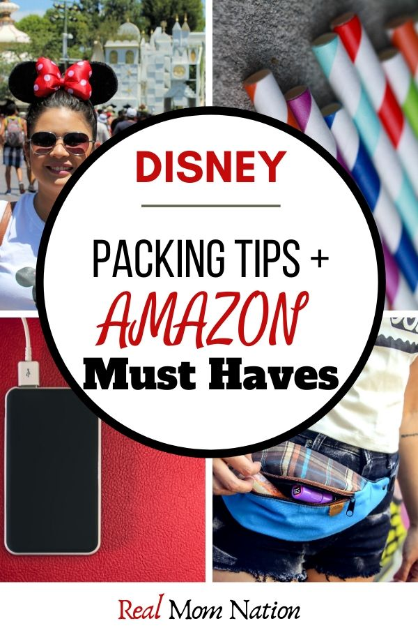 PIN - Disney Packing Tips & Amazon Must Haves list