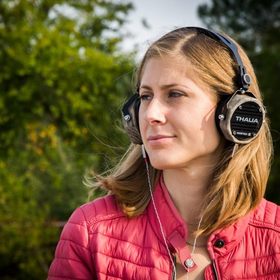 Mom with Headphones - Stay at home moms need podcasts to combat the social distancing stress that makes us feel isolated