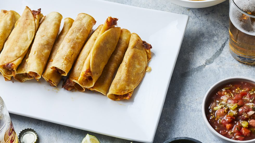 Taquitos - Crispy Veggie Taquitos Kids Love for Taco Tuesday Revamped