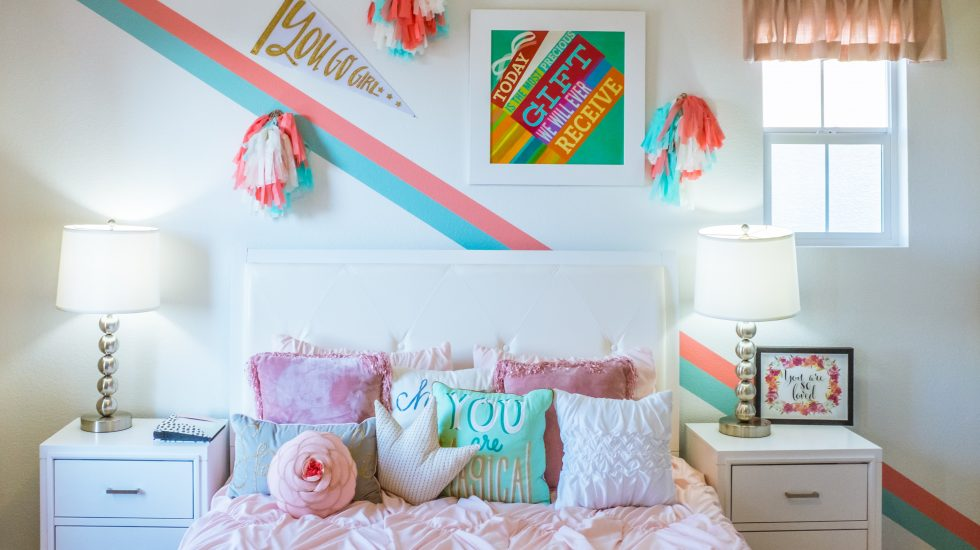 Girl Bedroom - Kindergarteners still needs naps